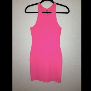 PINK /Victoria Secret Hot Pink Body Con Dress